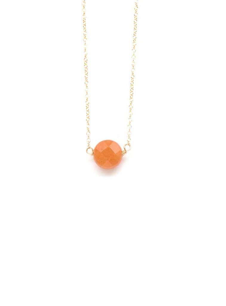 Emma Jane Designs, LLC Orange Bead Necklace