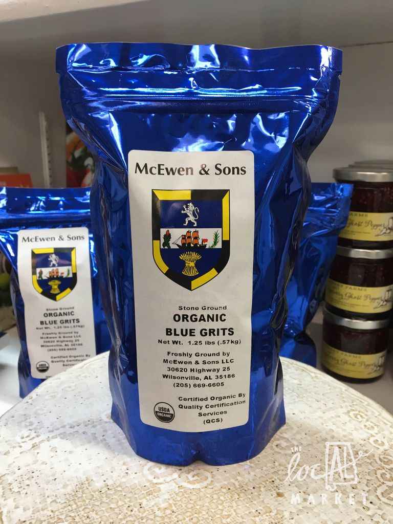 McEwen and Sons 1.25 lbs Blue Grits