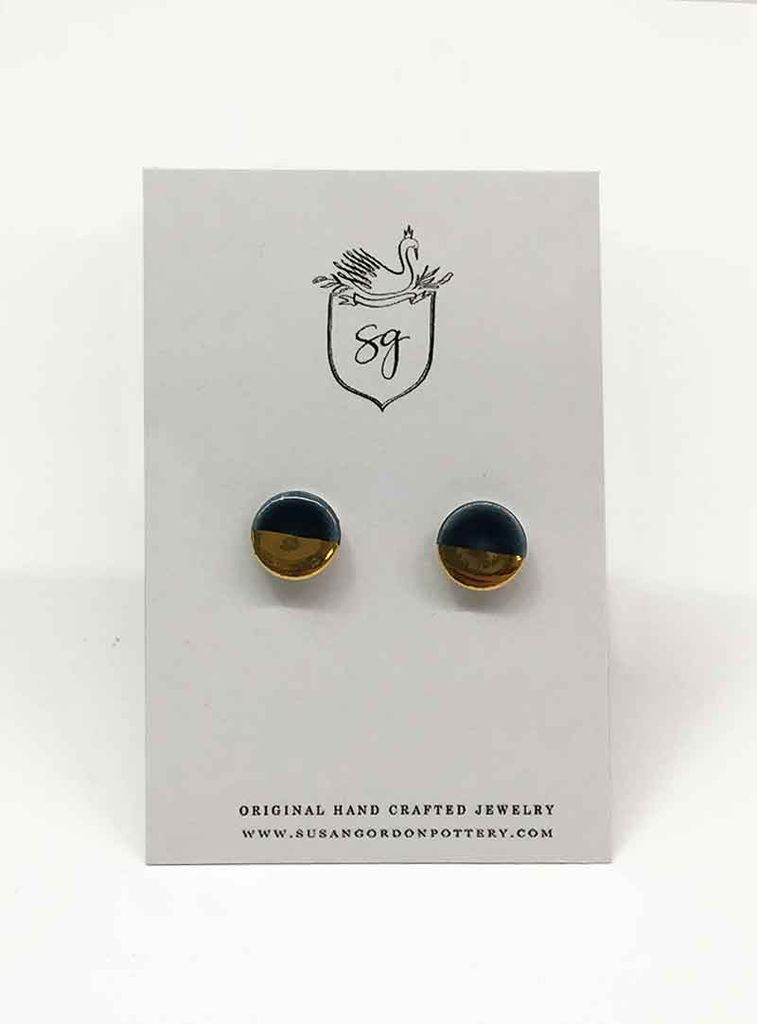 Susan Gordon Pottery Stud Earrings