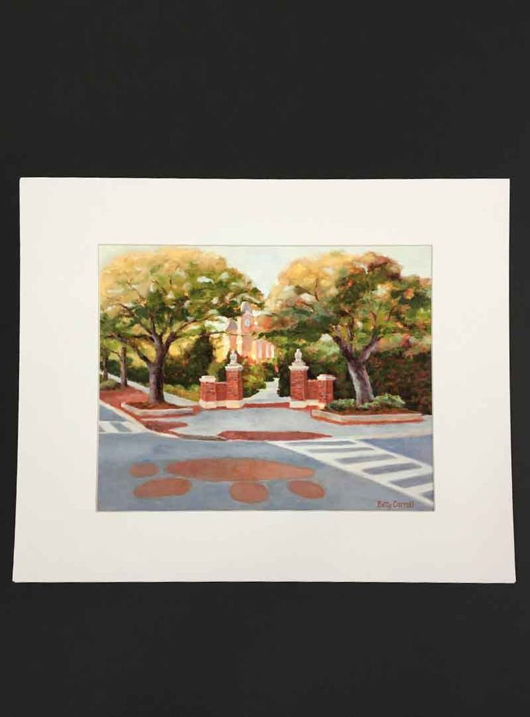 Betty Carroll Toomer Trees Print