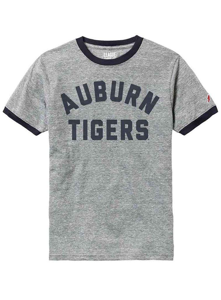 League Vintage Auburn Tigers Ringer T-Shirt