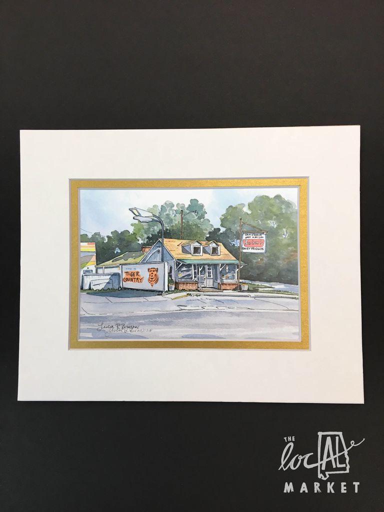 Leslie Brasher 8x10 Matted Print