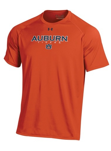 Under Armour Auburn Tigers AU Tech T-Shirt