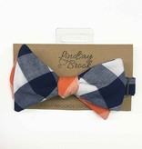 Lindsay Bolcar Exploded Gingham Bow Tie
