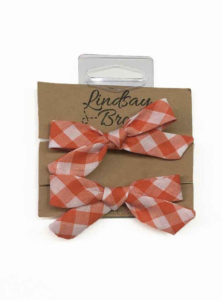 Lindsay Bolcar Pigtail Elastic Bow Set