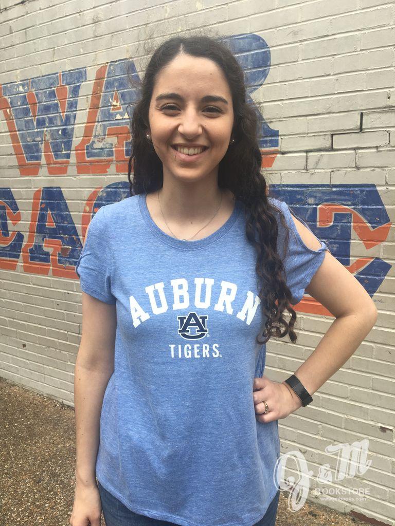League Arch Auburn AU Tigers T-Shirt