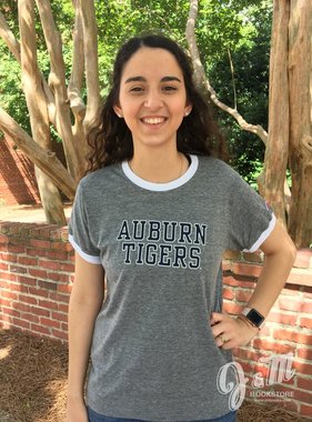 League Classic Auburn Tigers Ringer T-Shirt