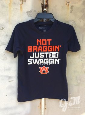 Under Armour Not Braggin Just Swaggin Tigers Under Armour Youth T-Shirt