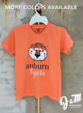 MV Sport Aubie Auburn Sript Tigers Youth T-Shirt