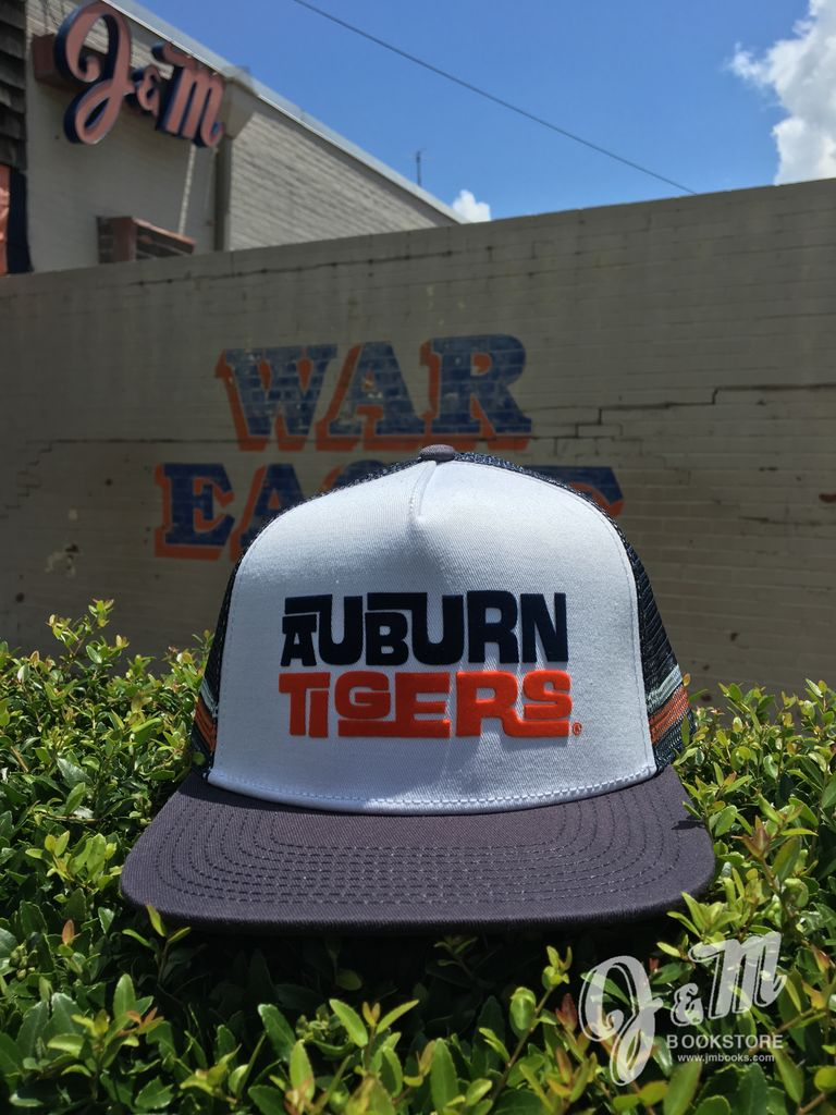 The Game Auburn Tigers - Flatbill Mesh Navy/White Hippie/Trucker