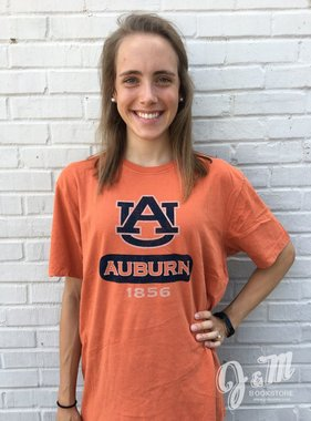 Gear Outta Town - Washed Orange AU Auburn 1856 T-Shirt