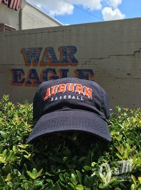 Arch Auburn Baseball Hat, Navy. OSFA