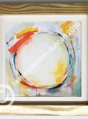 10 by 10 inch Circle No.2 Print