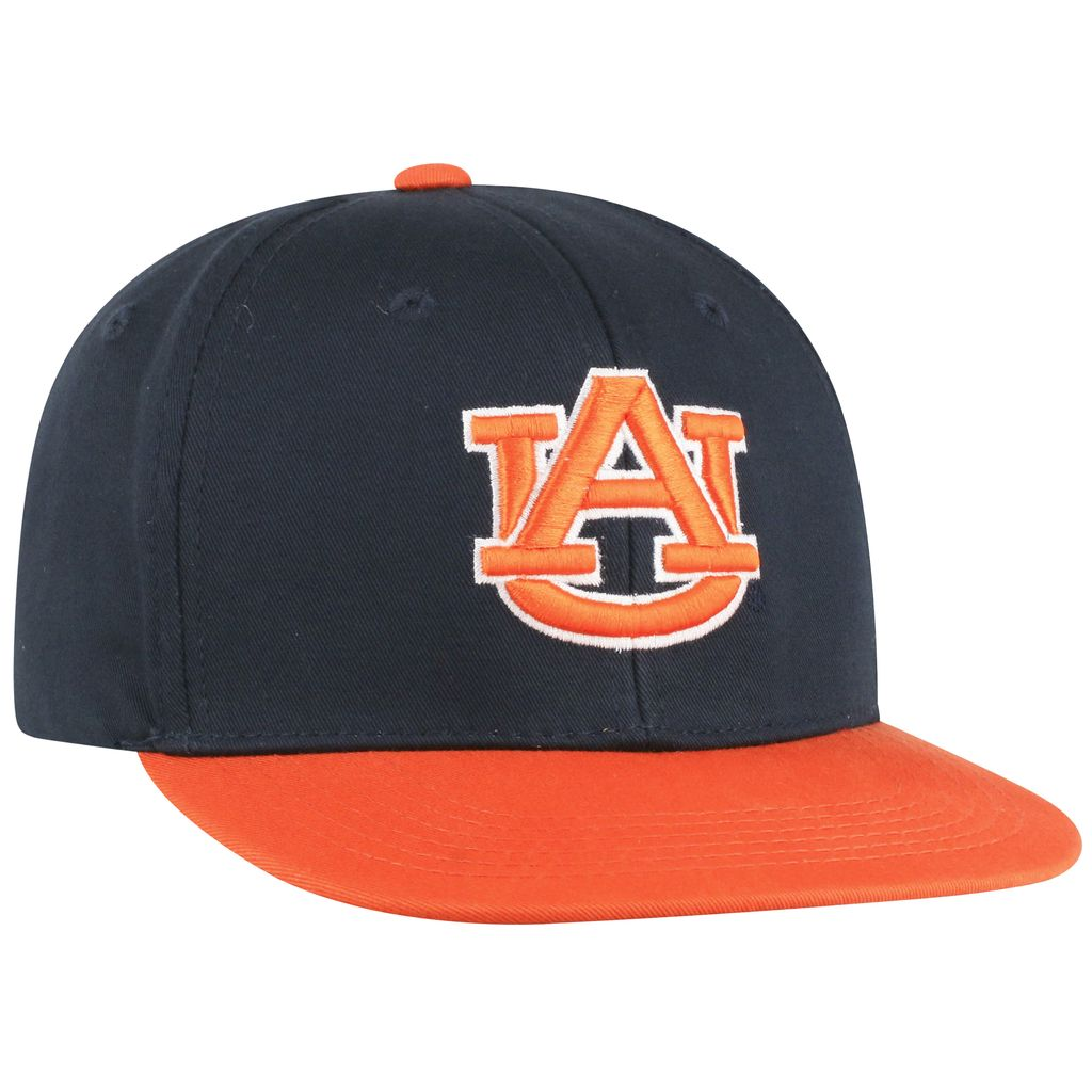 AU Youth Maverick Two Tone Flatbill Adjustable Hat