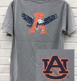 Retro Brand Classic Eagle Through A T-Shirt
