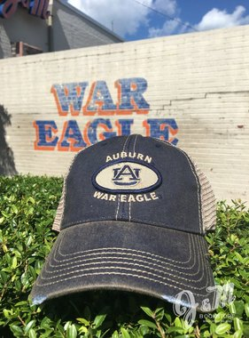 Auburn AU Oval Patch Mesh Hat