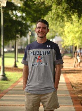 Under Armour Auburn Eagle Through A War Eagle T-Shirt