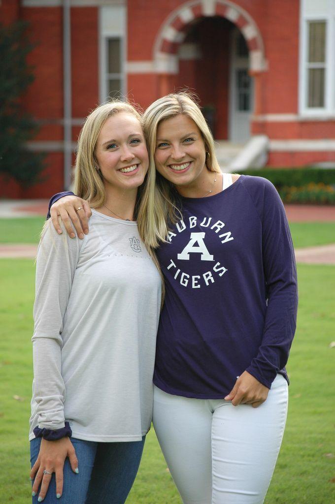 Under Armour Auburn Tigers Classic A Ladies Long Sleeve T-Shirt