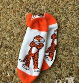 Donegal Bay Auburn Tigers Aubie No Show Sock