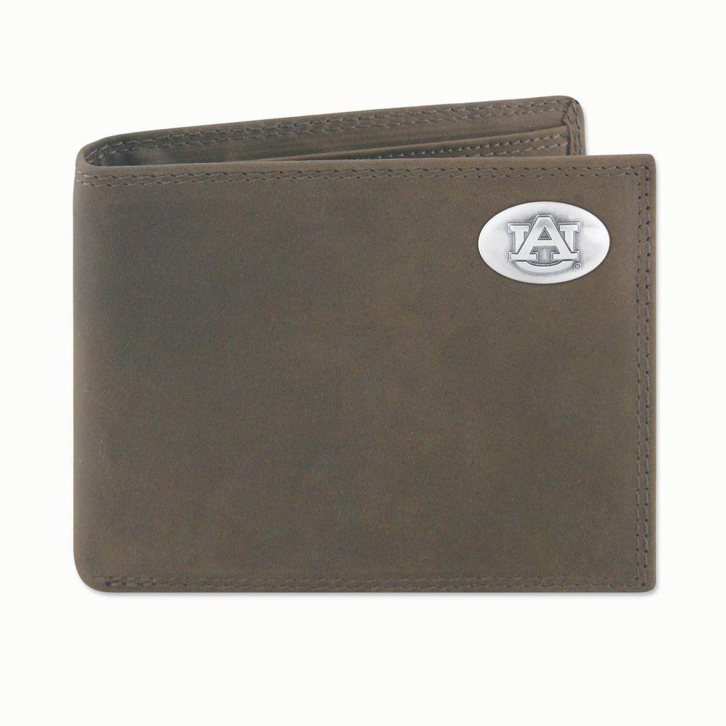 Light Brown Crazy Horse Passcase Wallet