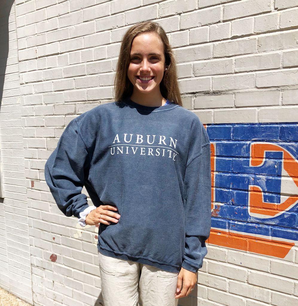 Chicka-D Auburn Bar University Corded Sweatshirt
