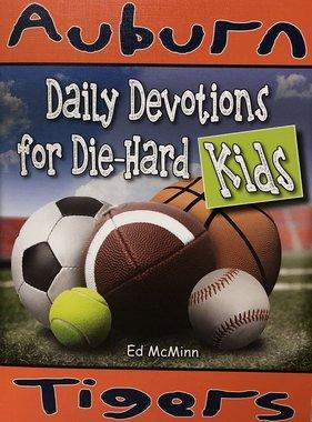 Auburn Tigers: Daily Devotions for Die-Hard Fans Kids-McMinn