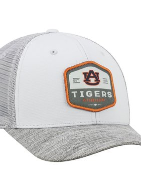 AU Tigers Auburn 1856 One Fit Grey Mesh Hat