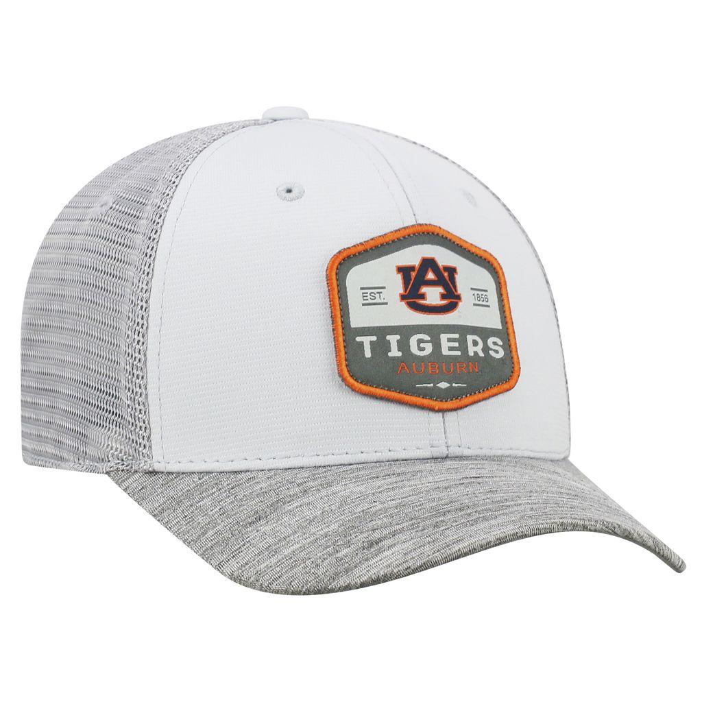 AU Tigers Auburn 1856 One Fit Grey Mesh Hat