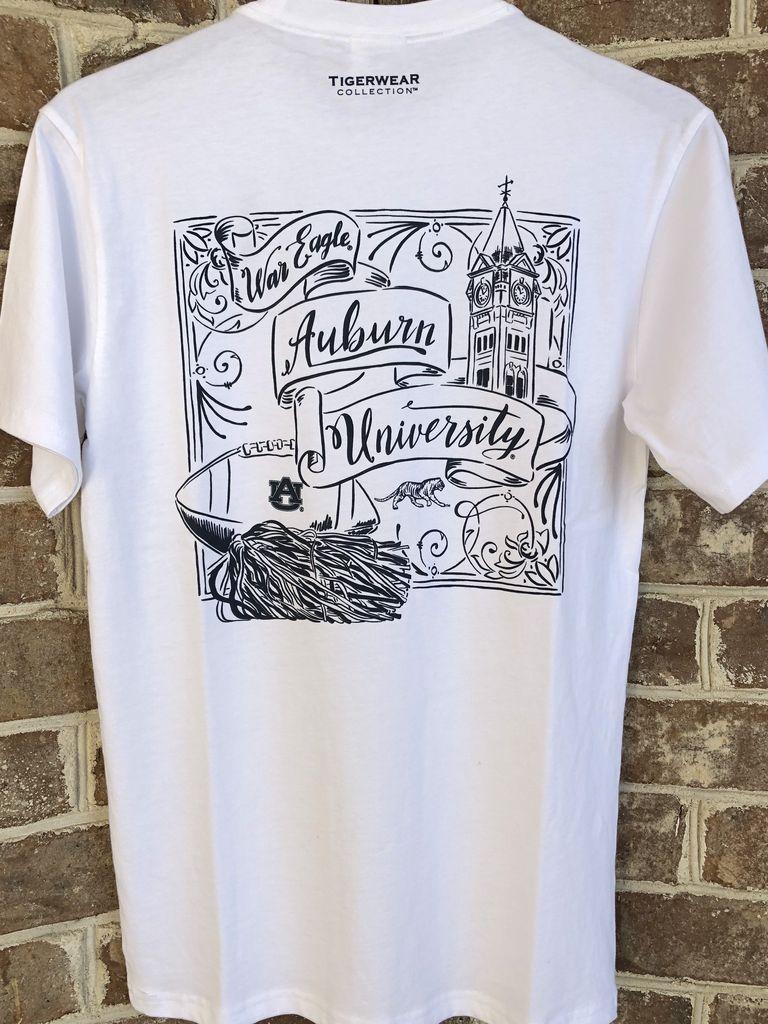 Tigerwear Script Auburn University T-Shirt