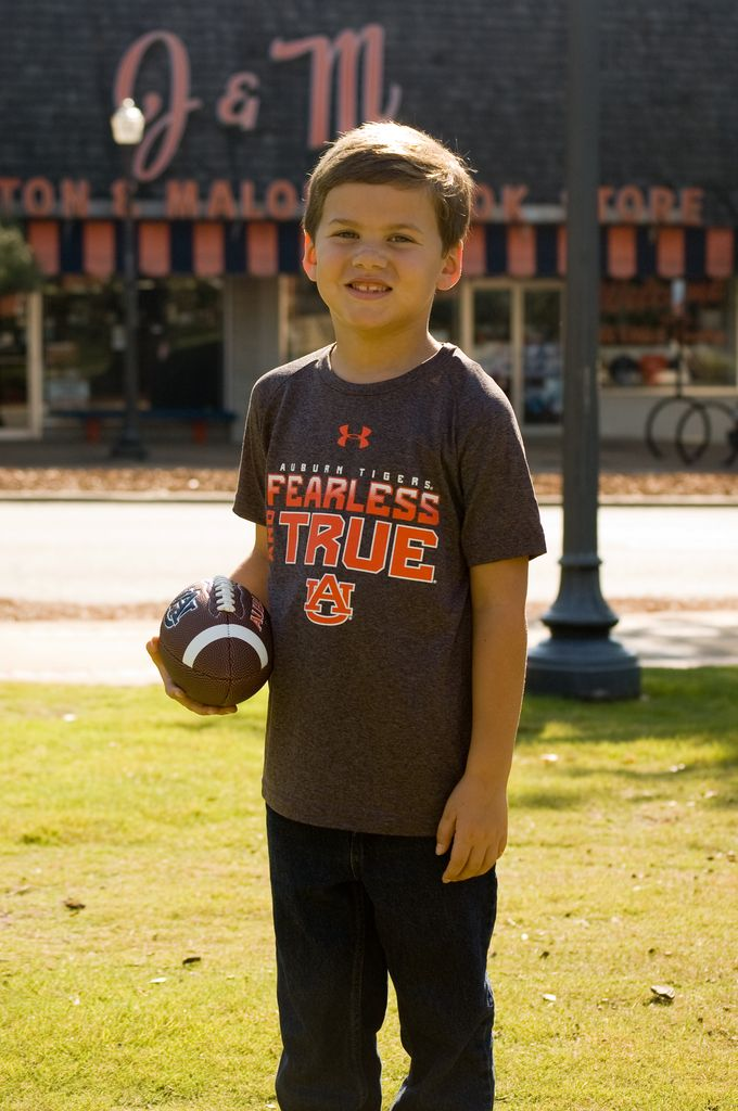 Under Armour Auburn Tigers AU Fearless and True Youth T-Shirt