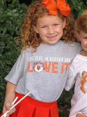 Aubie Love It Youth T-Shirt