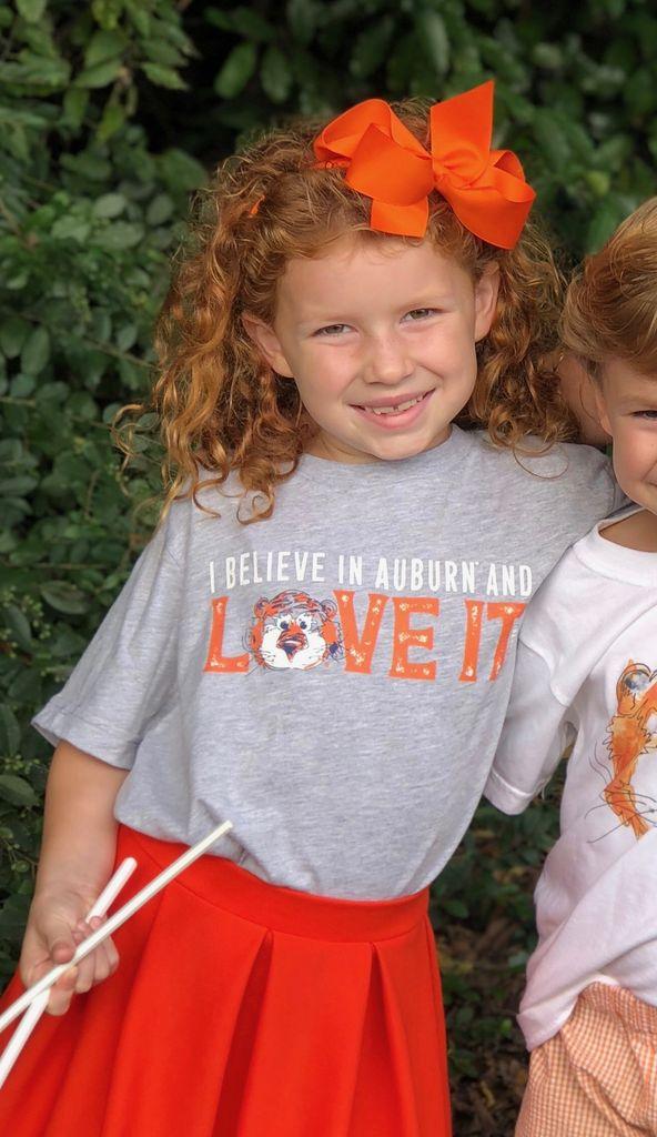 Aubie Love It Youth T-Shirt
