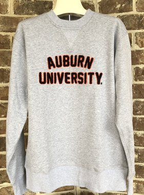 Hillflint Classic Auburn University Embroidered Crew