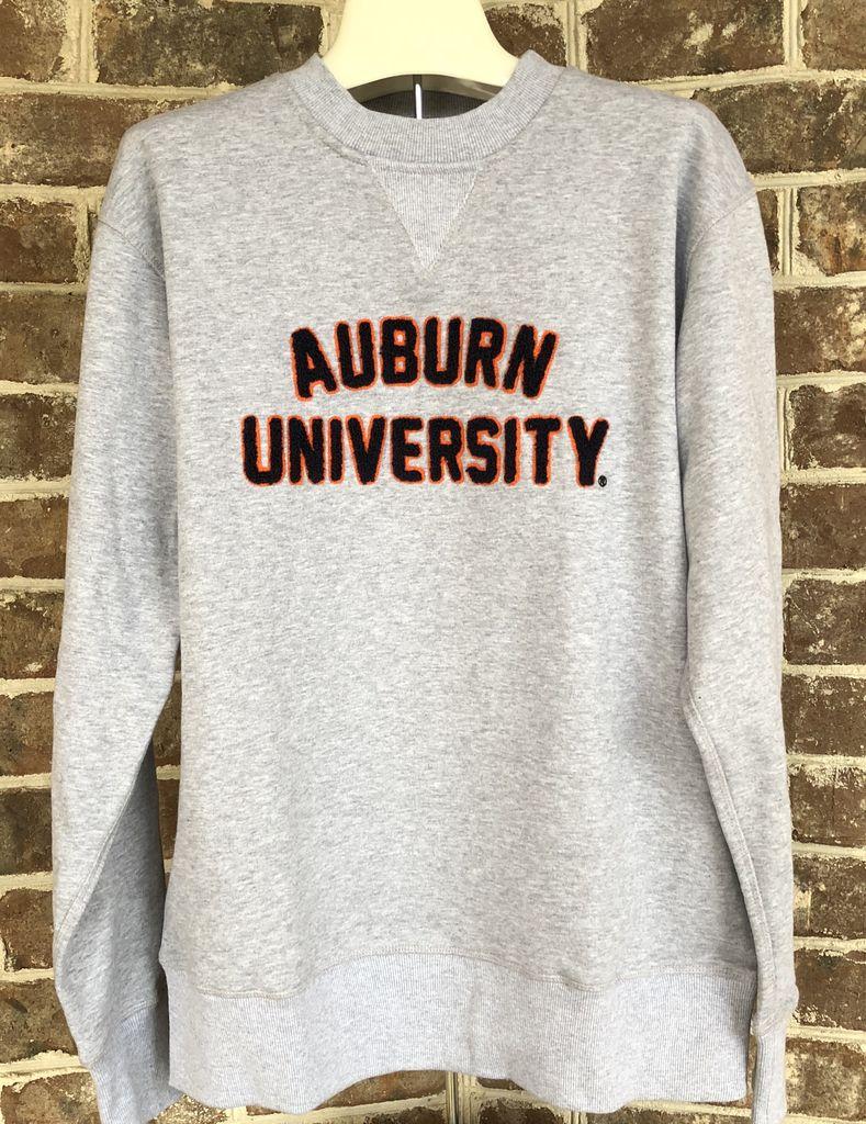 Hillflint Classic Auburn University Embroidered Crew