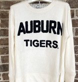 Auburn Tigers Embroidered French Terry Pullover
