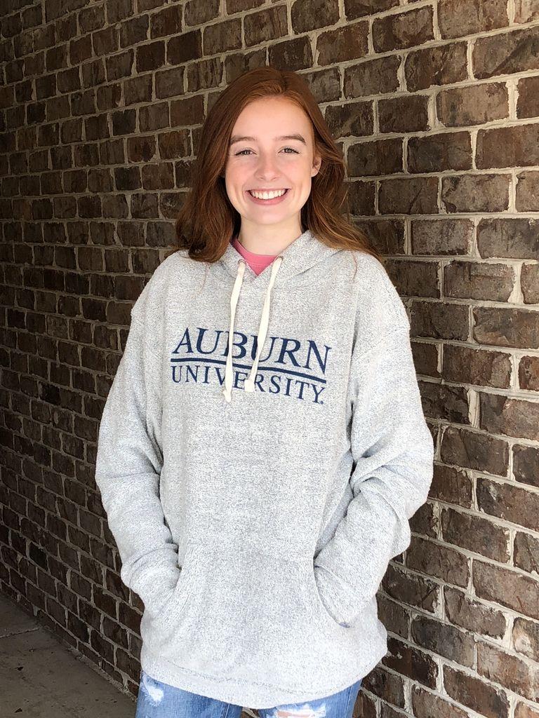 MV Sport Auburn Bar University Fleece Hood