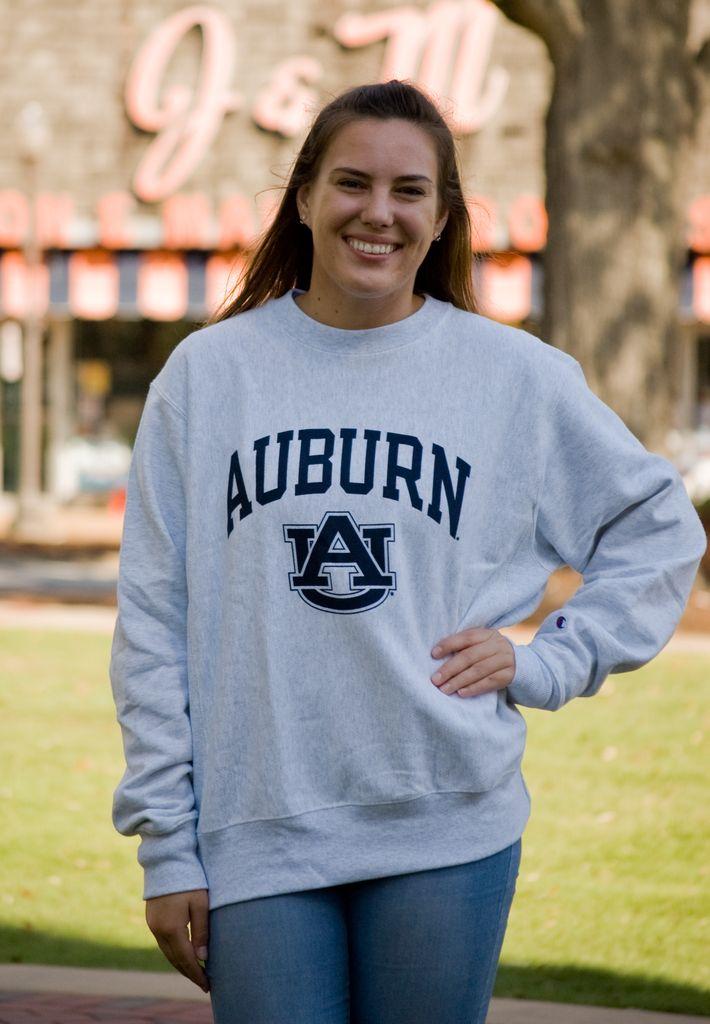Arch Auburn AU Reverse Weave Crew