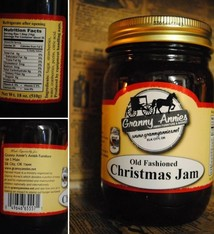 TROYER CHEESE CHRISTMAS JAM