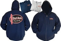 Beach House Beach House Adult Zip Up Hoody