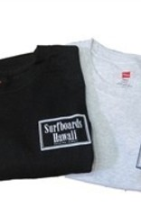 Classic Tee- Surfboards Hawaii Rectangle Logo