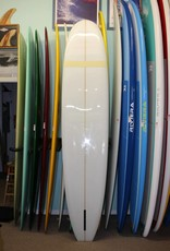 "Mitsven 9'6"" Mitsven Surfboard - Nuuhiwa Noserider Clear w/Yellow Comp Band"