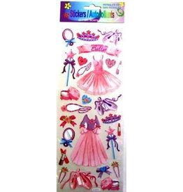 C and J Merchantile Ballerina Glitter sticker
