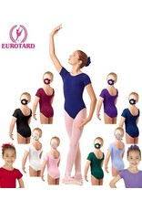Eurotard Eurotard Child Cotton Short Sleeve Leotard