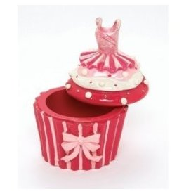 Dasha Designs Dasha Cupcake Trinket Box