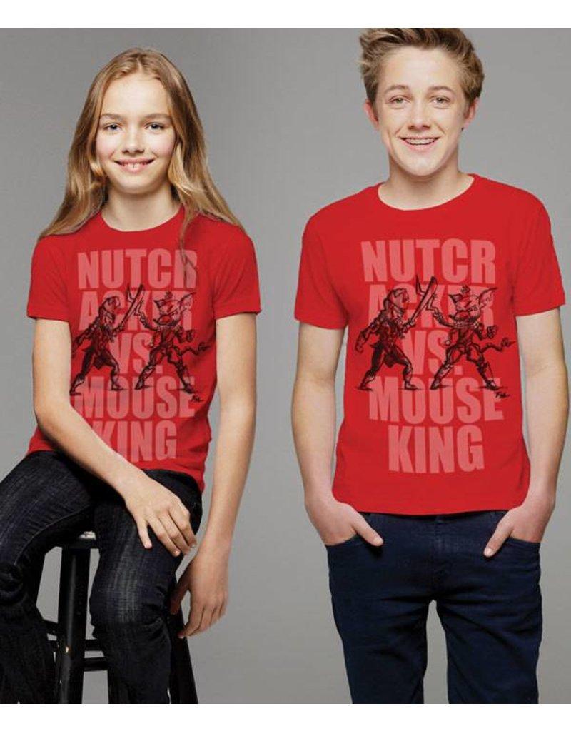 Covet Dance Clothing Nutcracker Vs. Mouse King Youth Tee