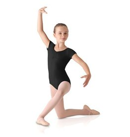 Leo Dancewear Child Front Pinch Cap Sleeve