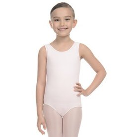 Danskin Girls NYCB Back Ruffle Neck Tank