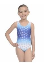 Danskin Girls Foil Print Gymnastic