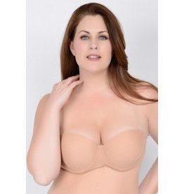 "QT Shapree Intimates QT ""Clearly Hooked"" Convertable Bra"