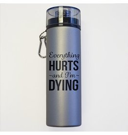 Suffolk Dance Everything Hurts Water Bottle
